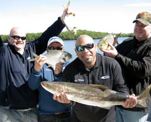 Corporate Tournament Fishing in Tampa Bay with Captain Wade Osborne aboard the Afishionado