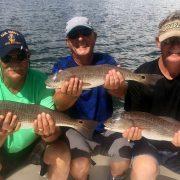Redfish Charter Fishing Tampa