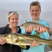 Shrimp Redfish Fishing